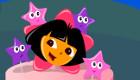 Le gâteau d'anniversaire de Dora