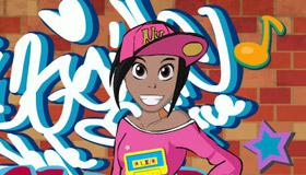 Habiller une danseuse hip hop