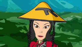 habillage : Une chinoise à la mode