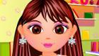 maquillage : Coiffe le sosie de Dora