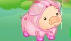 habillage : Habille Laure et son cochon