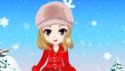 habillage : Habille un mannequin de catalogue d'hiver