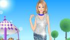 habillage : Une fille accro aux bonbons