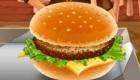 cuisine : Jeu de serveuse dans une sandwicherie