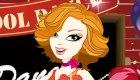 habillage : Maîtresse d'école en danseuse