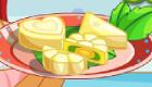 cuisine : Jeu de préparation d'un gâteau