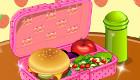 Jeux de fille : Préparer un déjeuner pour l'école
