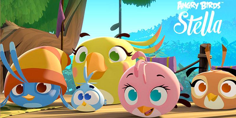 Angry birds stella les dessins anim s toute l actu fun jeux 2 filles - Jeux de spongebob cuisine ...