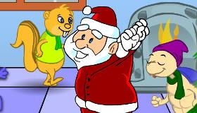 Jeux de fille : Noël pour animaux