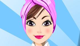 maquillage : Massage intégral dans un spa de luxe
