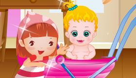 gratuit : Jeu d'une famille avec bébé - 11