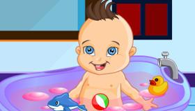 gratuit : Jeu de bain pour bébé