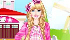 stars : Habiller Barbie en Hello Kitty