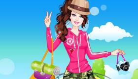 stars : Habiller Barbie pour le camping