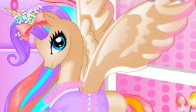 habillage : Anniversaire Princesse Pony