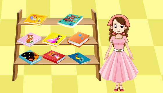 gratuit : Jeu de vendeuse de livres