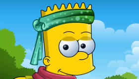 Habiller Bart Simpson