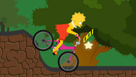 Le tour de vélo de Lisa Simpson