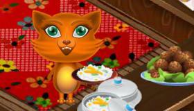 cuisine : Gère un restaurant de chat
