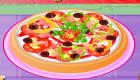 Jeux de fille : Viens cuisiner une pizza au restaurant