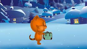 gratuit : Habiller un chat en hiver