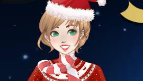 maquillage : Maquillage de Noël