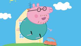 jeux gratuit : Le fête de Peppa Pig