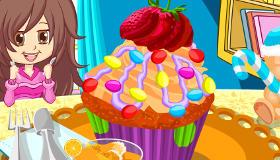 cuisine : Cupcakes colorés