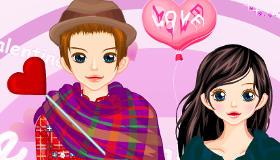 habillage : La Saint Valentin de Cindy et Vincent