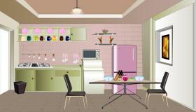 décoration : Une cuisine pour les filles