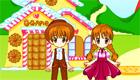 décoration : Les sucreries d'Hansel et Gretel