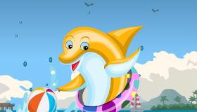 gratuit : Habille un dauphin