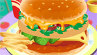 cuisine : Jeu de hamburger