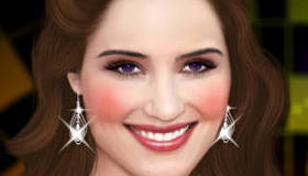 stars : Dianna Agron Glee Relooking