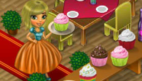 gratuit : Une fille gestionnaire de restaurant