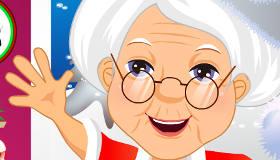 habillage : Jeu d'habillage de la mère Noël