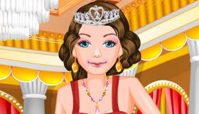 habillage : La princesse s'habille vintage