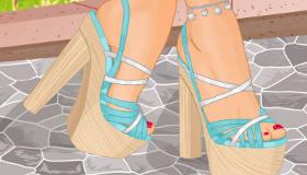 habillage : Créer des chaussures de mode - 4
