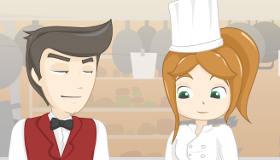 gratuit : Embrasser le cuisinier
