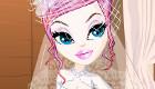 habillage : Une mariée haute-couture