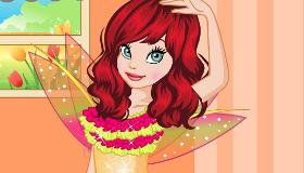 jeux maquillage : Relooking de la fée Clochette