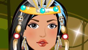 habillage : Pocahontas en emo