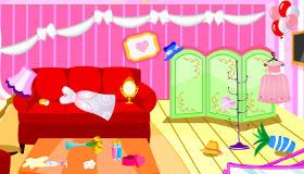 Jeux de fille : Nettoyage d'un spa spécialisé en mariage