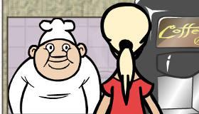 cuisine : Jeu de serveuse de restaurant
