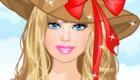 habillage : Barbie à fleurs