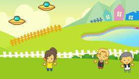 Jeux de fille : L'attaque des aliens