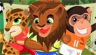 gratuit : Jeu de foot dans la jungle