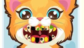 gratuit : Un chat chez le dentiste