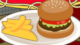 cuisine : Hamburger épicé par Mia