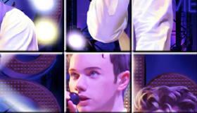 gratuit : Glee Puzzle du casting